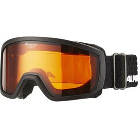 Alpina Scarabeo Doubleflex S2 Goggles Børn, black